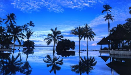 Infinity Pool at The Oberoi Lombok