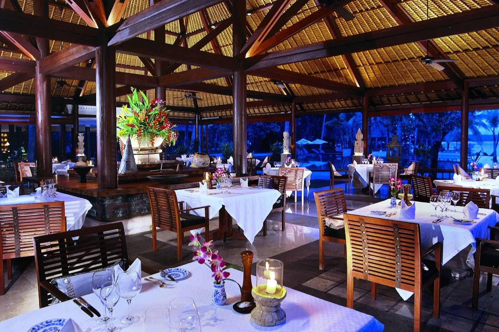 Restaurant at The Oberoi Lombok