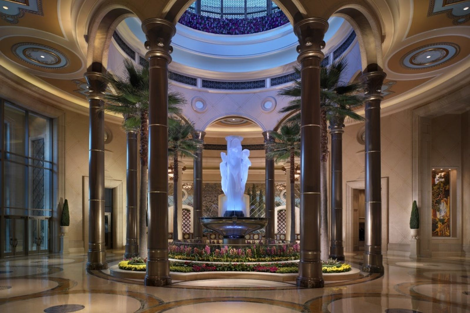 The Palazzo reception