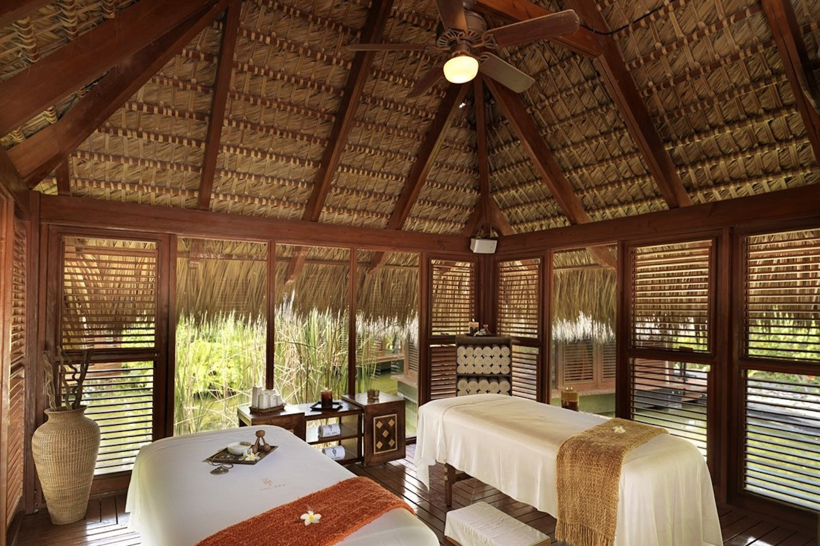 Yhi Spa Treatment Room at The Reserve at Paradisus Palma Real, Dominican Republic
