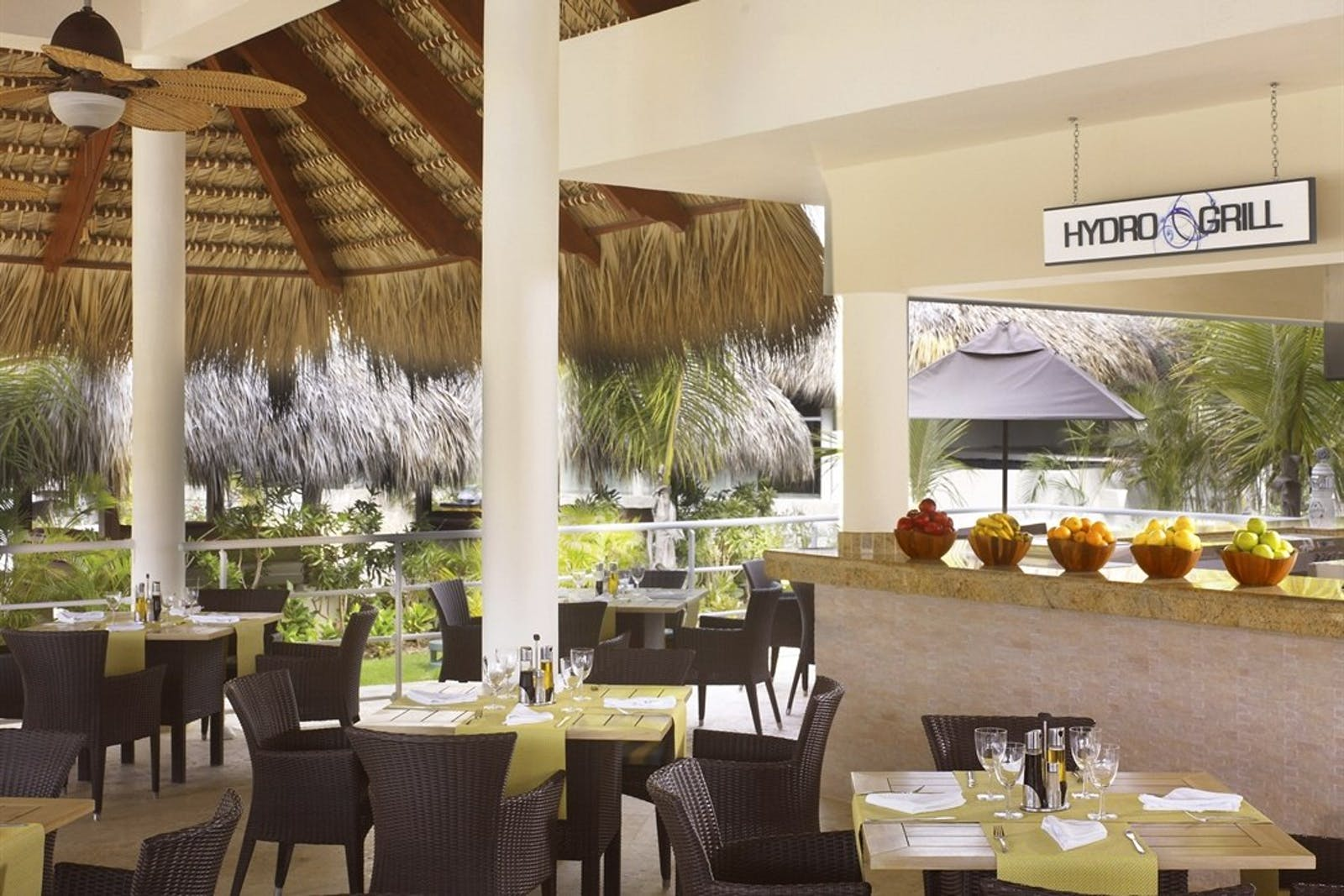 Hydro Grill at The Reserve at Paradisus Palma Real, Dominican Republic