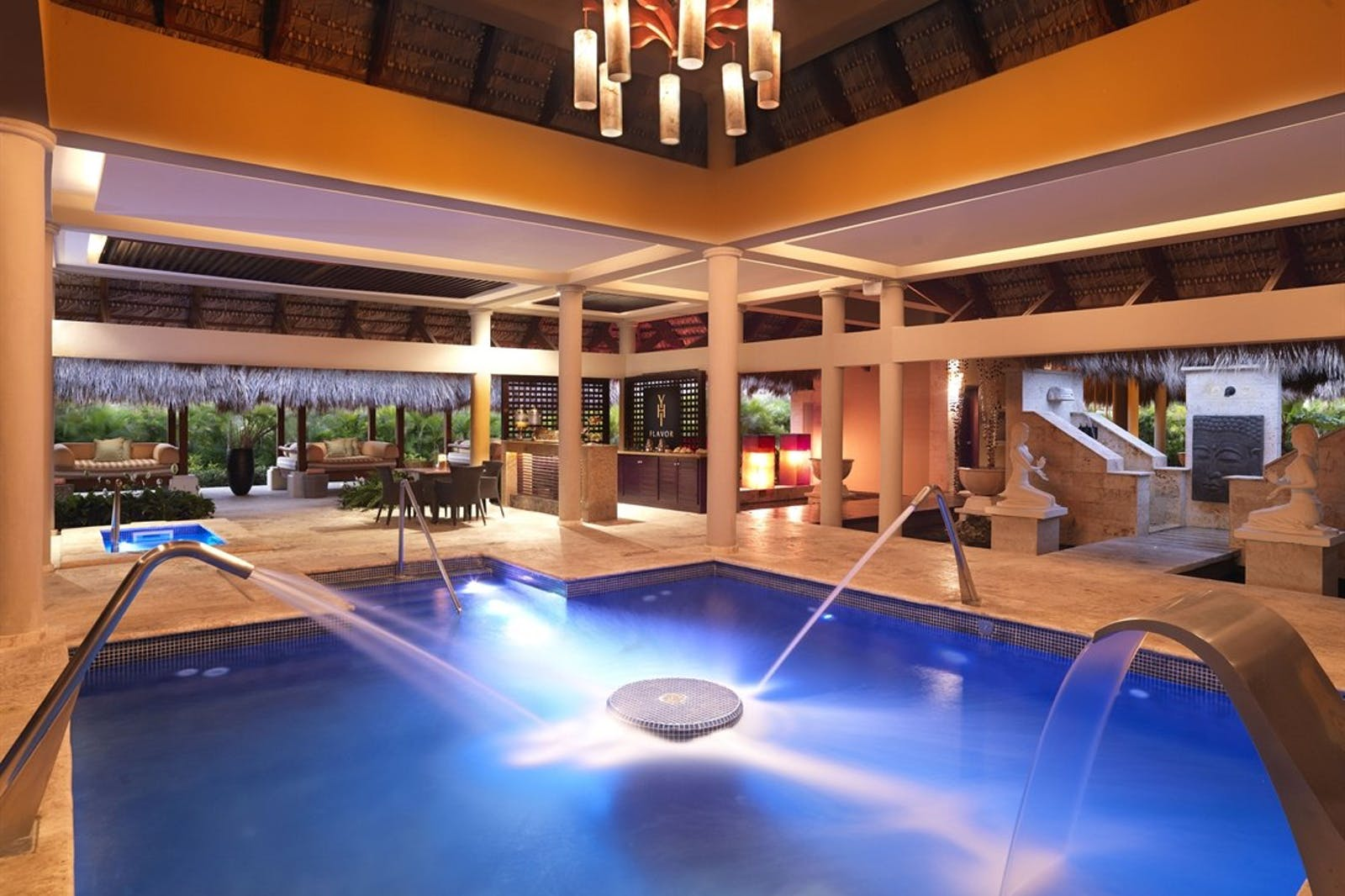Spa Pool at The Reserve at Paradisus Palma Real, Dominican Republic