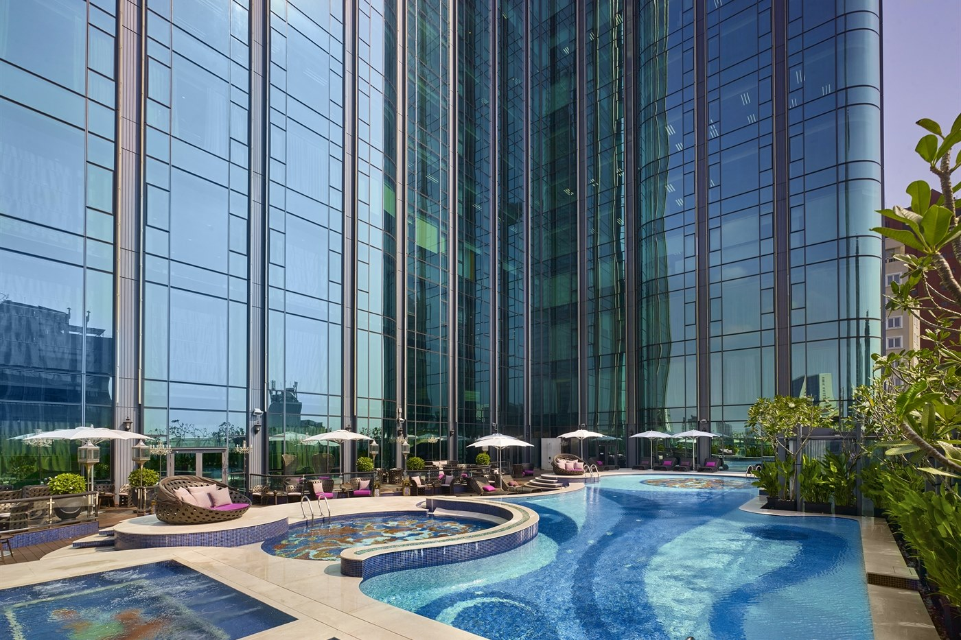 Swimming Pool and Spa Area at The Reverie Saigon