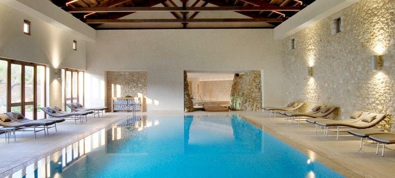 The Romanos, Indoor pool