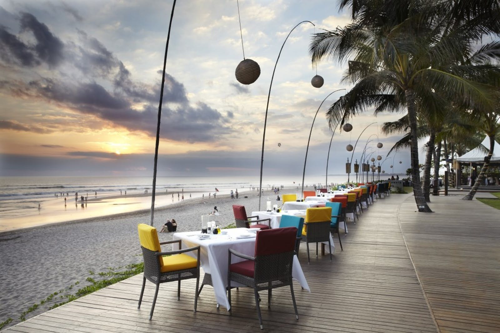 Breeze Beachfront Restaurant at The Samaya Seminyak