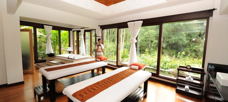 Spa Treatment Room at The Samaya Ubud, Bali