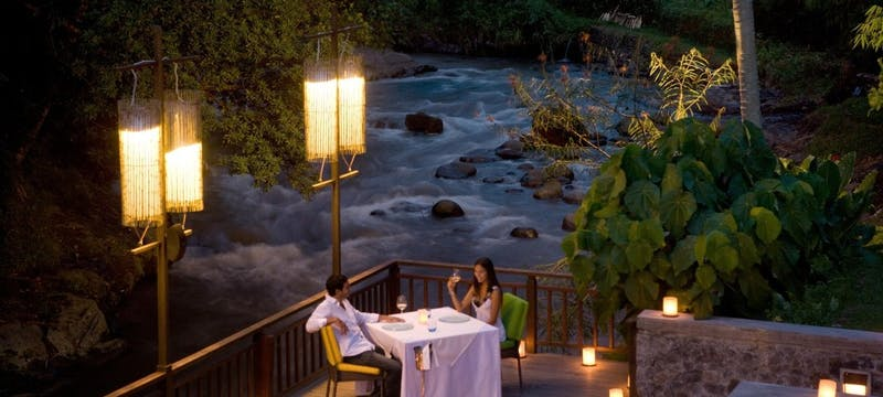Swept Away - Dinner at The Samaya Ubud, Bali
