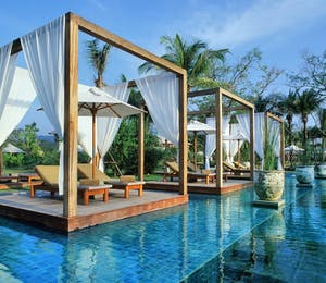 Swimming Pool at The Sarojin, Khao Lak, Thailand