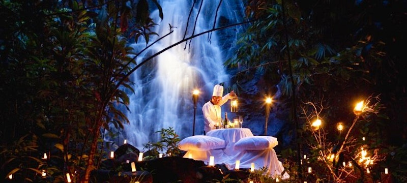 Waterfall Private Dinner