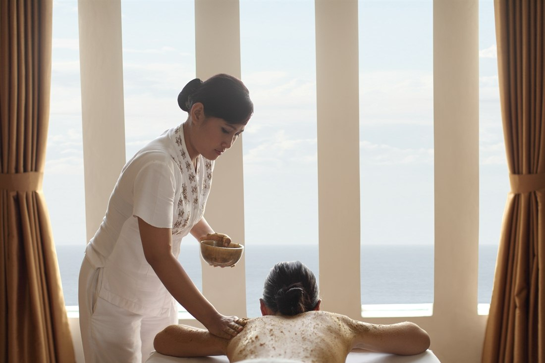 Spa treatment at The Seminyak Beach Resort & Spa