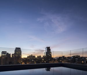 Rooftop Pool, The Singular Santiago