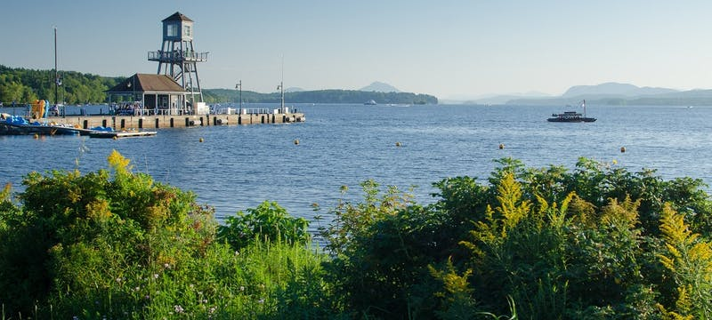 Magog on Lake Memphremagog, Quebec Eastern Townships