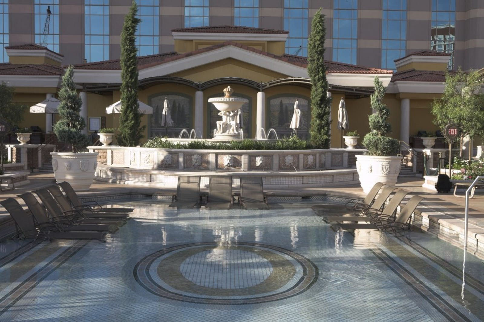Water Fountain at the Venetian