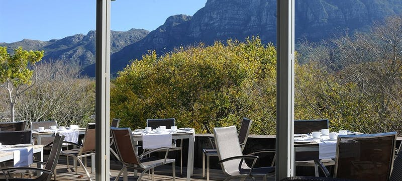 Dining at The Vineyard Hotel