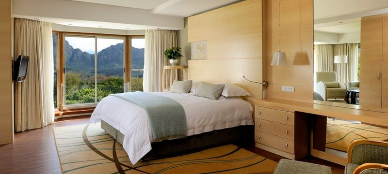 Bedroom at The Vineyard Hotel