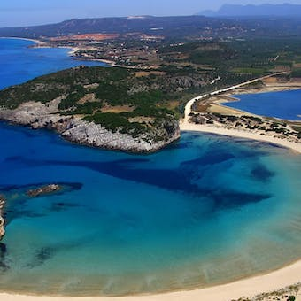 Voidokilia Beach at The Westin Resort Costa Navarino