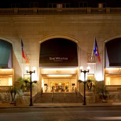 Entrance to Westin Riverwalk, San Antonio