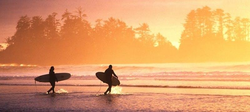 Chesterman Beach Sunset Surfers - Photo Credit / Adrian Dorst