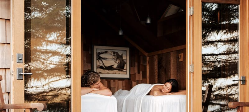 Side by Side Massage - Photo Credit / Anthony Redpath
