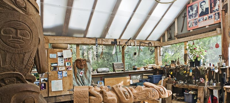 Carving Shed - Photo Credit / Chris Pouget