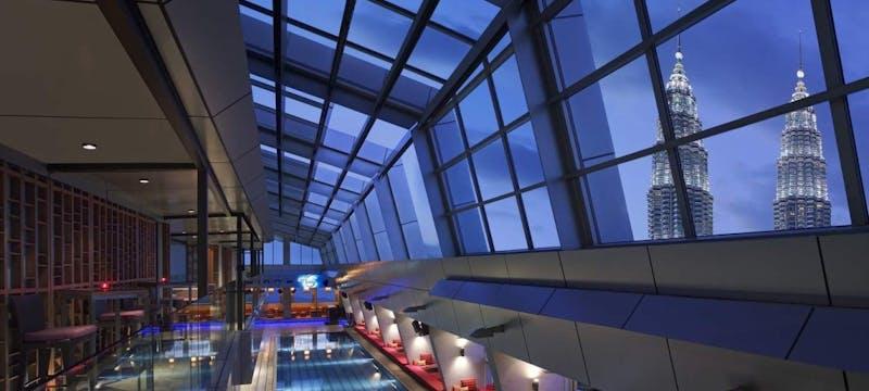 Sky Bar & Pool at Traders Kuala Lumpur