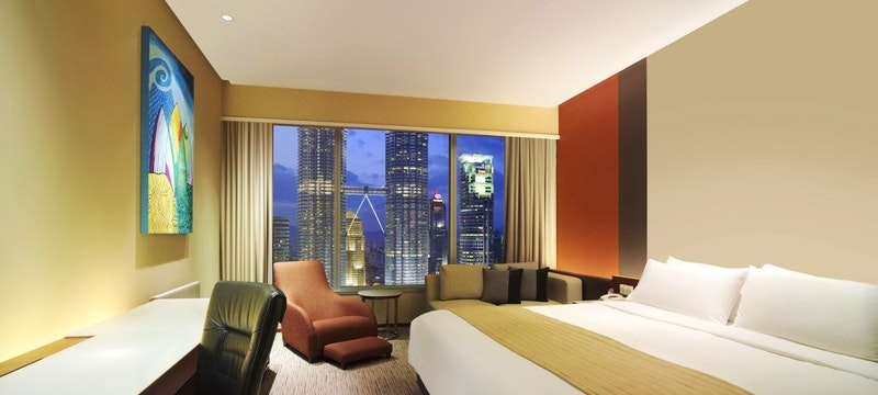 Deluxe Twin Towers View room