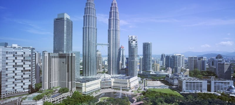 View from Traders Hotel at Traders Kuala Lumpur