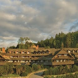 Exterior of Trapp Family Lodge