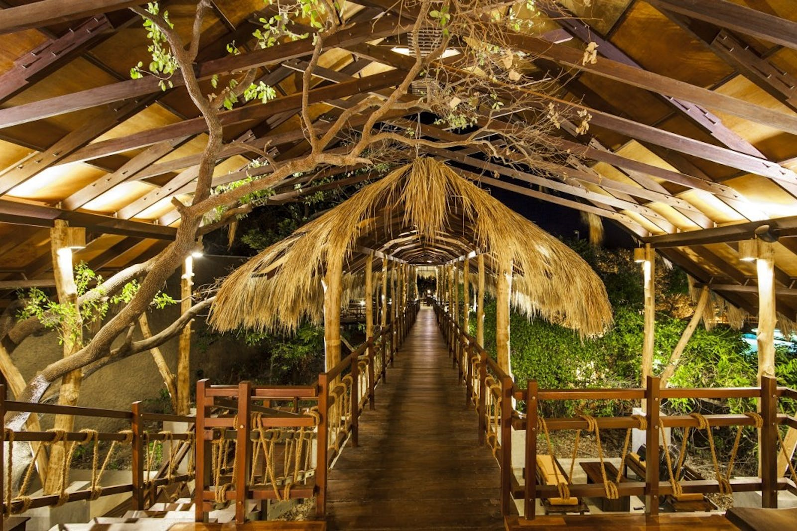 Jungle Beach canopy