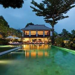 Swimming Pool & Bar at Uma By COMO, Ubud