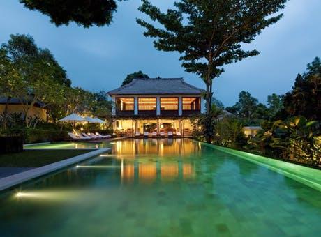 Swimming Pool & Bar at Uma By COMO, Ubud
