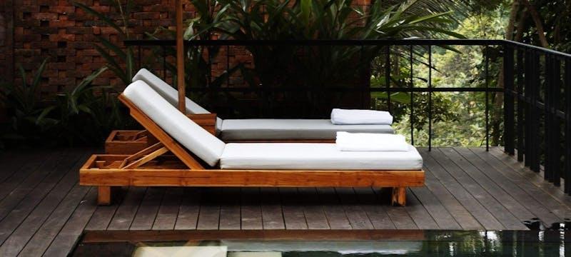Pool Villa Sundeck at Uma By COMO, Ubud