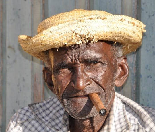 Cuban Cigar Smoker