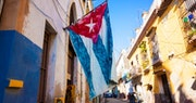 Typical Havana City Street