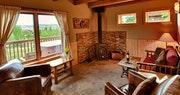 Little Agnes Log Cabin Living Room