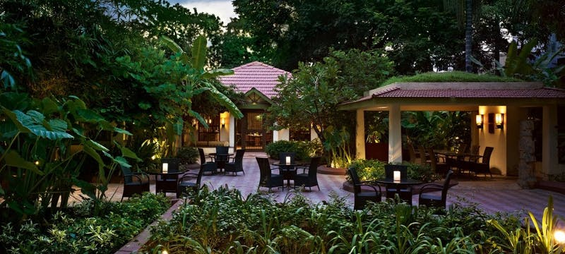 Raintree Restaurant at Vivanta by Taj Connemara