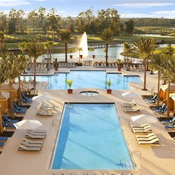 Swimming Pool at Waldorf Astoria Orlando