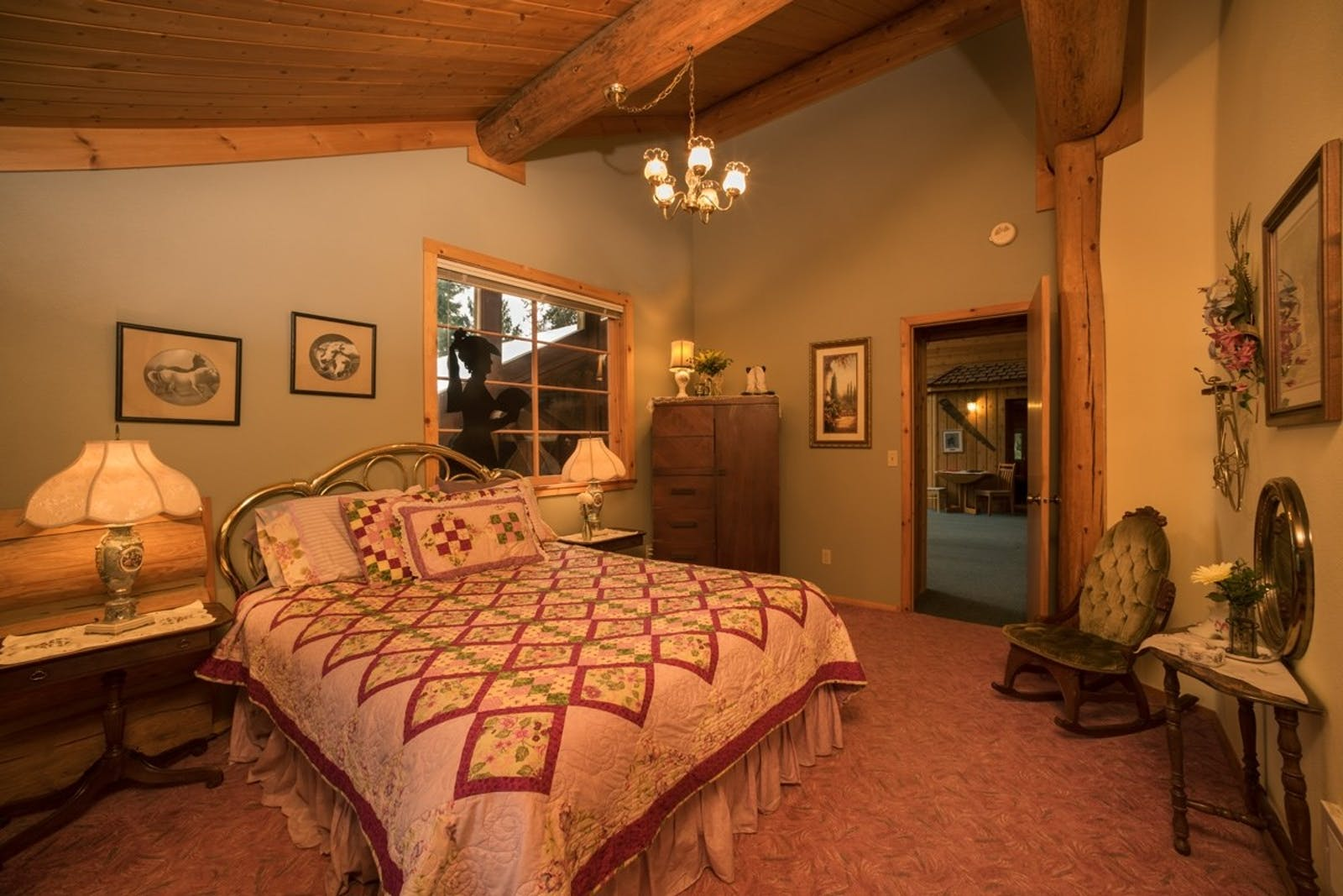 Typical Accommodation At Western Pleasure Guest Ranch
