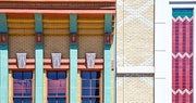 Architecture In San Diego's Gas Lamp Quarter
