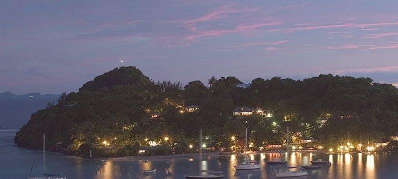 Young Island At Night