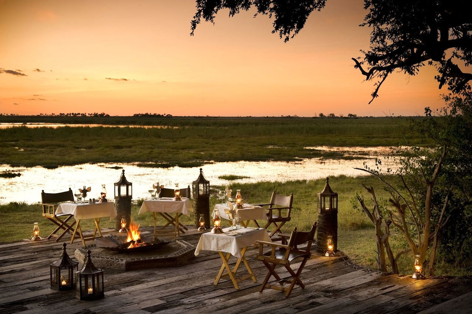 Alfresco Dining at Zarafa Camp